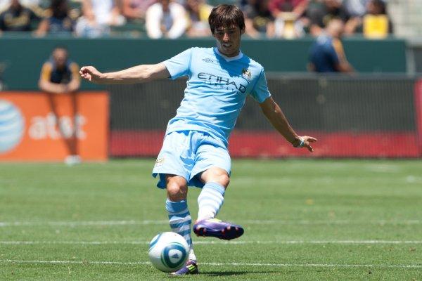 David Silva Manchester City 019